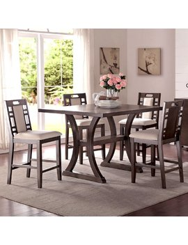 Infini Furnishings Adele 5 Piece Counter Height Dining Set & Reviews by Infini Furnishings
