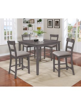 Crown Mark Henderson 5 Piece Counter Height Dining Set & Reviews by Crown Mark