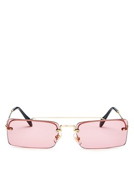 Women's Brow Bar Square Sunglasses, 58mm by Miu Miu