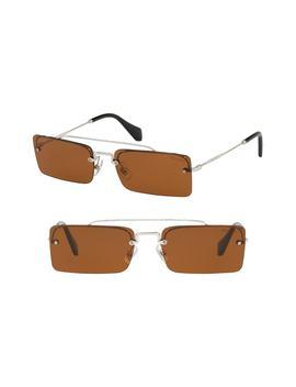 Socit 58mm Square Sunglasses by Miu Miu