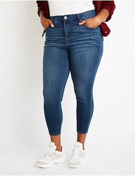 Plus Size Refuge High Rise Skinny Jeans by Charlotte Russe