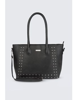 Studded Shopper Bag by Select