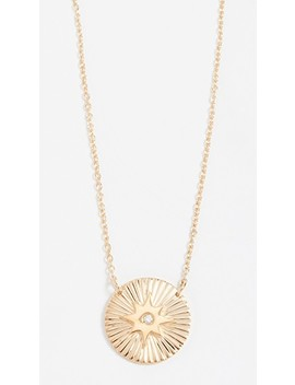 Iris Mini Gia Necklace by Jennifer Zeuner Jewelry