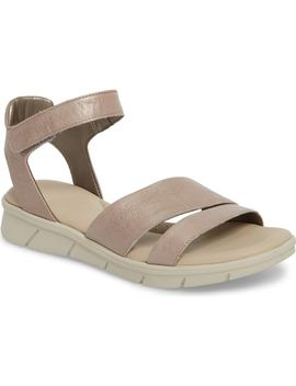 Crossover Ankle Strap Sandal by The Flexx