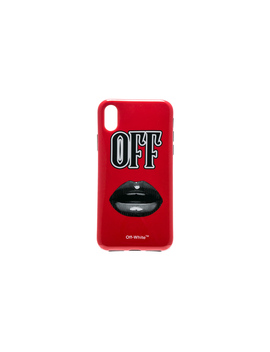 Lips I Phone X Case by Off White