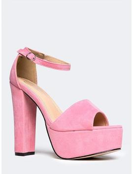 Tutu Platform High Heel by Zooshoo