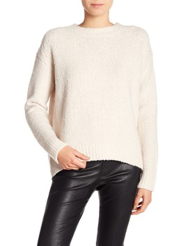 Textured Wool Pullover by Vince