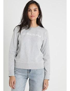 Institutional Logo Sweatshirt   Bluza by Calvin Klein Jeans
