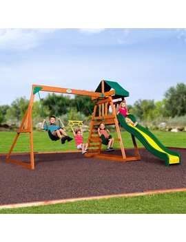 Backyard Discovery Prescott All Cedar Swing Set & Reviews by Backyard Discovery
