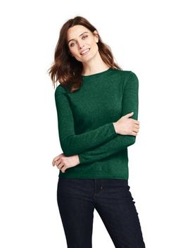 Women's Plus Size Cashmere Sweater by Lands' End