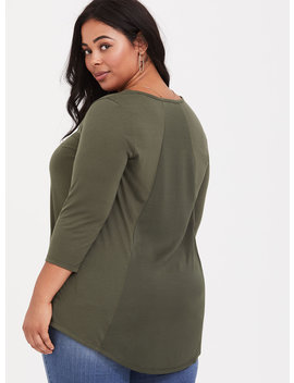 Mixed Media Tunic by Torrid