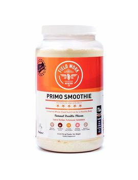 Field Work Nutrition Co. Primo Smoothie Meal Replacement Shake With Grass Fed Whey Protein: Real Food Protein Powder Smoothie Mix With Turmeric, Tart... by Field Work Nutrition