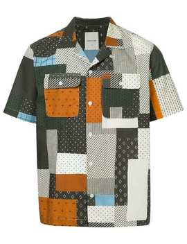Wood Woodquilt Miami Shirthome Men Wood Wood Clothing Shirtsprinted Sweaterquilt Miami Shirt by Wood Wood