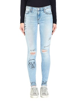 Jude Mid Rise Super Skinny   One For The Road by Black Orchid Denim