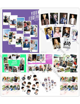 30pcs Kpop Bts In Bloom Lomo Card Bangtan Boys Exo Seventeen Blackpink Postcard by Allkpoper