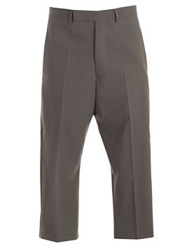 Rick Owens Cropped Trousers by Rick Owens