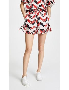 Venice Sienna Knotted Shorts by Maison Kitsune