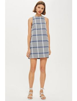 **Spencer Sleeveless Mini Check Dress By Nobody's Child by Topshop