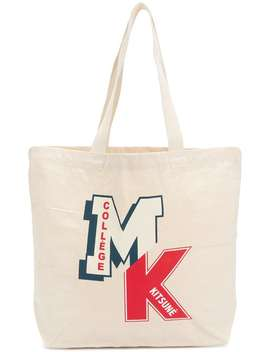 Maison Kitsunémk College Tote Baghome Men Maison Kitsunébags Tote Bags by Maison Kitsuné