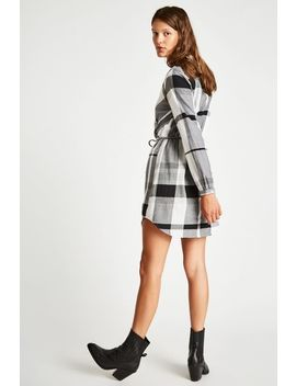 Millgate Checked Wrap Shirt Dress by Jack Wills