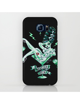Bride Of Frankenstein In A Martini Glass I Phone Case by