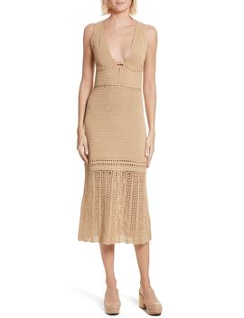 Contender Crochet Dress by Rachel Comey