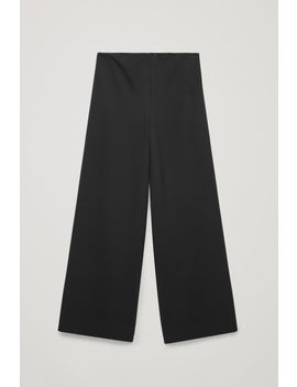 Elastic Detail Jersey Trousers by Cos