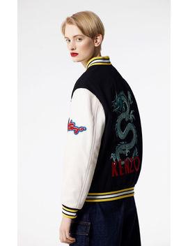 Embroidered Varsity Jacket by Kenzo