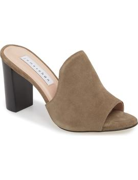Aimee Block Heel Mule by James Chan