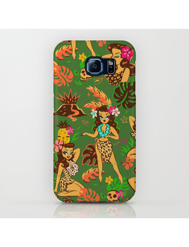 Tiki Temptress On Green I Phone Case by