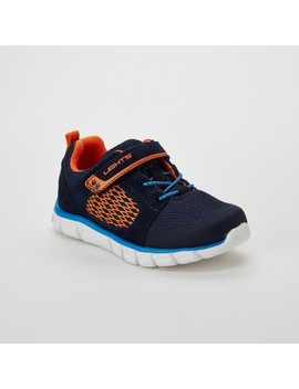 Toddler Boys' Surprize By Stride Rite Gunner Light Up Performance Athletic Shoes   Navy by Shop All Surprize By Stride Rite