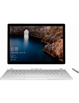 "Surface Book 13.5"" Touch Screen With Performance Base   Intel Core I7   8 Gb Memory   256 Gb Solid State Hard Drive   Silver by Microsoft"