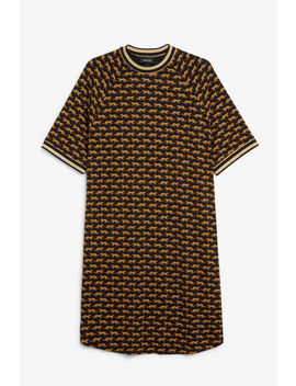 Sporty T Shirt Dress by Monki