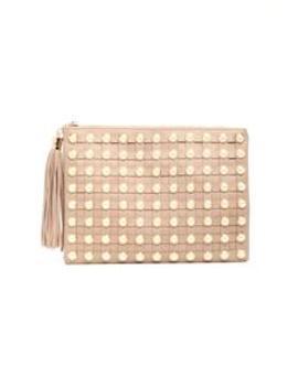 Pearl Girl Clutch   Khaki by Fashion Nova
