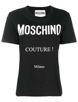 Couture! Logo T Shirt by Moschino