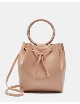 Drawstring Bag With Wax Cord Hoop In Soft Leather by Theory