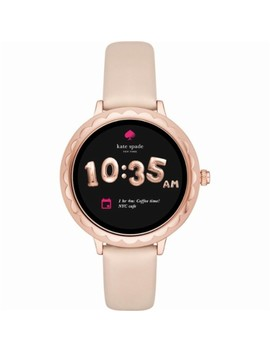 Scallop Smartwatch 42mm Stainless Steel   Rose Gold by Kate Spade New York