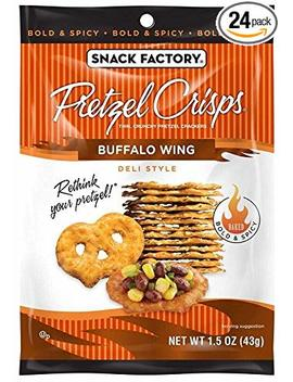 Snack Factory Pretzel Crisps Variety Pack, Single Serve 1.5 Ounce, 24 Count by Snack Factory
