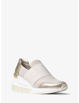 Felix Scuba And Metallic Sneaker by Michael Michael Kors