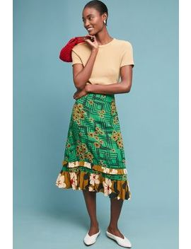 Gabriella Printed Skirt by Orla Kiely