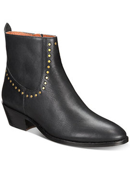 Eva Stacked Heel Booties by Coach