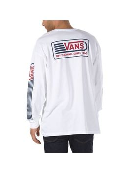 Blendline Oversized Long Sleeve T Shirt by Vans