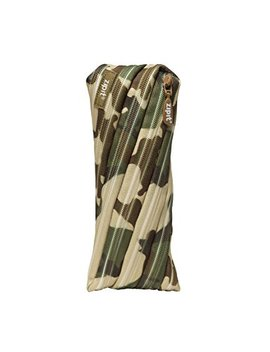 Zipit Camo Pencil Case, Green Camouflage by Zipit
