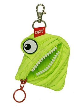 Zipit Monster Mini Pouch/Coin Purse, Lime by Zipit