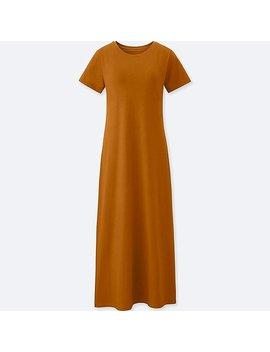 Women Long Bra Dress (Online Exclusive) by Uniqlo
