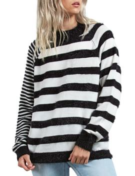 Need Space Stripe Sweater by Volcom