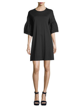 Bell Sleeve Cotton Dress by See By Chloe