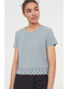 Camiseta Festoneada by H&M