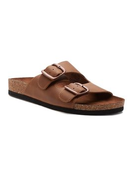 Sonoma Goods For Life™ Calligraphy Women's Leather Sandals by Kohl's