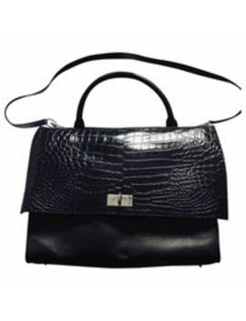Shark Leather Handbag by Givenchy